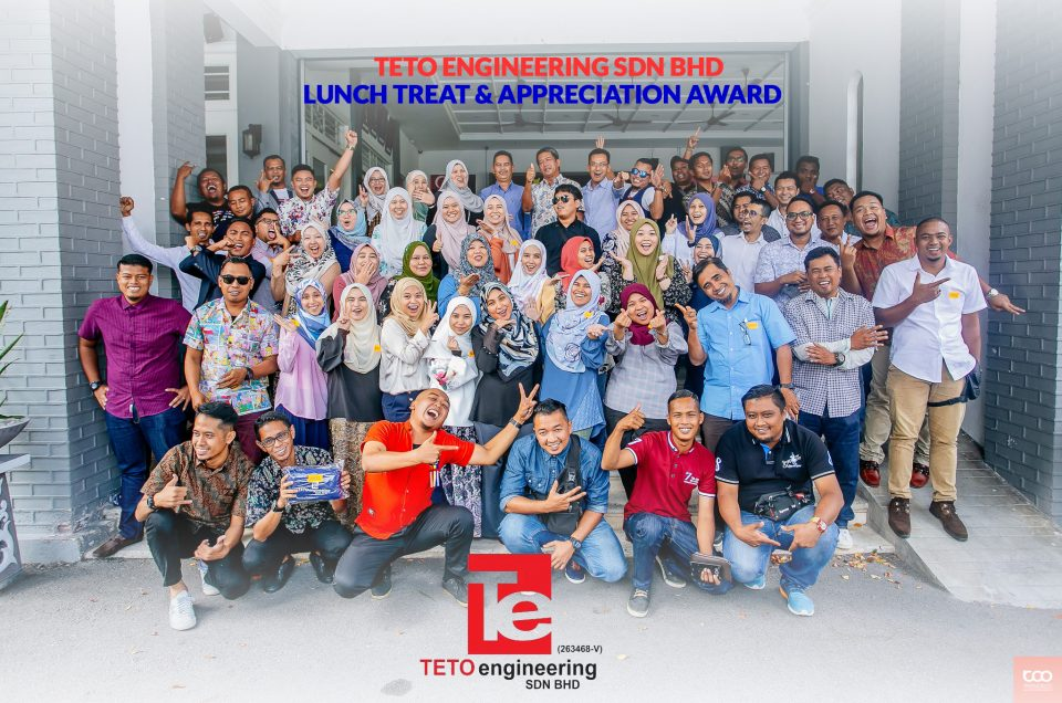 TETO Engineering  Lunch Treat & Appreciation Award
